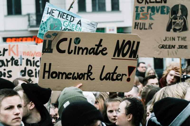 Klimademo oder Hausaufgaben